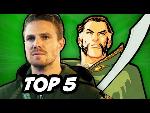 wtf - Arrow Season 3 Episode 4 . 50th Episode Ra's Al Ghul and The League of Assassins. Malcolm Merlyn and Nyssa Al Ghul declare War ▻ http://bit.ly/AwesomeSubscribe The Flash Episode 4 Easter...