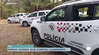 Preso homem que causou troca de tiros na Marechal Rondon em Itu