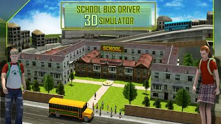 School Bus Driver 3D Simulator Android Gameplay level 5