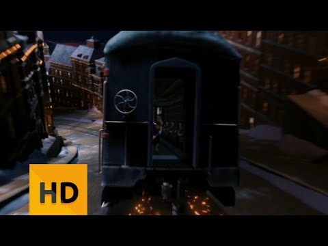 THE POLAR EXPRESS (2004) --- second train ride HD.