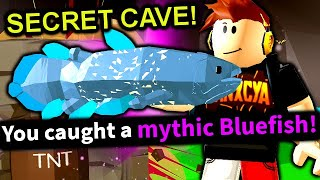 How To Unlock SHADOW ISLES *SECRET* CAVE - MYTHIC FISH LOCATION! | Roblox Fishing Simulator