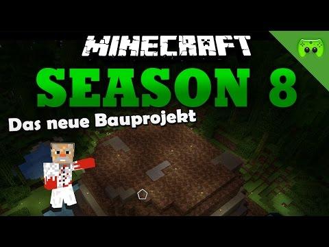 DAS NEUE BAUPROJEKT «» Minecraft Season 8 # 265   60 FPS