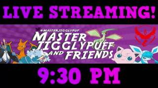 Going LIVE on YouTube at 9:30! 1,800 Subscribers! by Master Jigglypuff and Friends