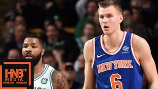Boston Celtics vs New York Knicks Full Game Highlights / Jan 31 / 2017-18 NBA Season