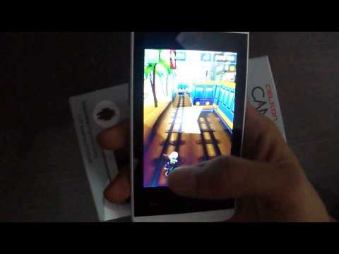 Subway Surfers Game Playback on Celkon Campus A35K