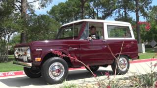 Incredible classic STOCK 1969 Ford Bronco 4x4 cruising & riding around Lewisville, Texas with Dave at Garrett Classics. As filmed by the world-renowned and revered YouTuber, Samspace81. 302 V8 with 3 Speed Manual on the Column & 4-Wheel-Drive Hi & Lo. Be sure to follow me on Facebook for classic car, classic truck, muscle car, custom, exotic, and modern muscle automobiles. FB - https://www.facebook.com/samspace81/