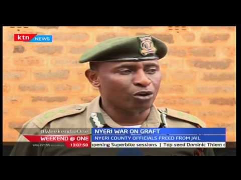 Weekend @ One: Two Nyeri county officials freed after paying ksh7.9m fine  ,1/10/2016