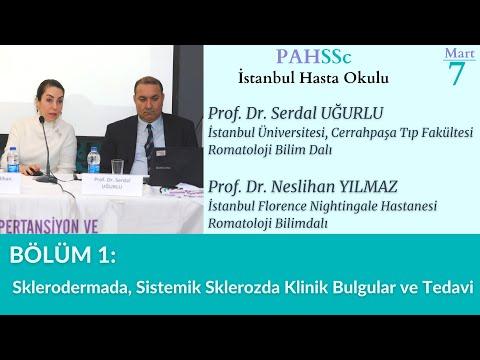 PAHSSc İstanbul Hasta Okulu - Bölüm 1 - Skleroderma - 07.03.2020