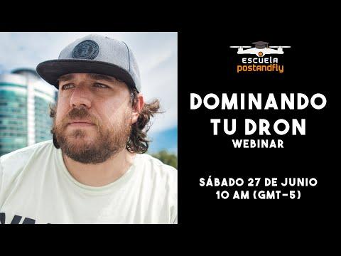 DOMINA TU DRON - WEBINAR