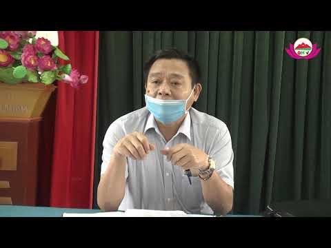 Đồng chí Võ Sỹ Sơn kiểm tra làm việc với Ban chỉ đạo phòng chống dịch bệnh Covid19 tại các xã Bắc Sơn, Châu Lý, Châu Thái và Châu Quang