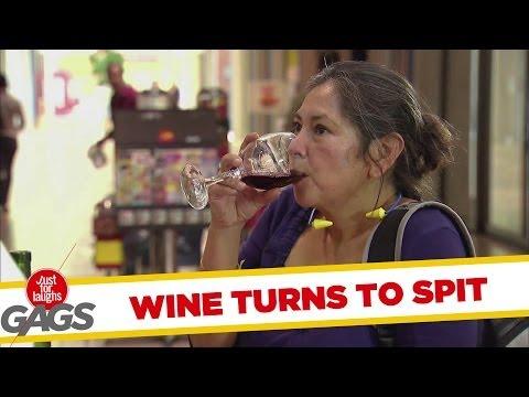 Turning Wine Into Spit - Youtube
