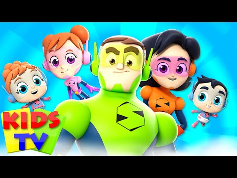 Finger Family Song | The Supremes Cartoon | Nursery Rhymes For Babies - Kids TV