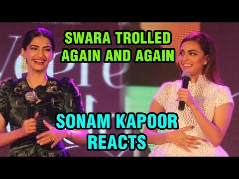 Sonam Kapoor BEST REACTION On Swara Bhasker Being