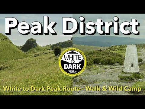Peak District - White to Dark Peak Route - Walk & Wild Camp