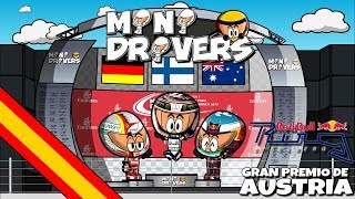 ¡Hemos vuelto! La nueva temporada de MiniDrivers ya está en marcha y los mejores resúmenes de la temporada están a tu alcance con el único humor de tus personajes favoritos.Valtteri Bottas logró su segunda victoria de la temporada en el GP de Austria. Tras una salida perfecta, la cuál fue considerada un jump start por Sebastian Vettel, el piloto de Finlandia lideró la carrera y logró los 25 puntos para su equipo en una carrera en la que Lewis Hamilton tuvo que remontar desde la 8ª posición tras haber sustituido la caja de cambios. Disfruta de los mejores momentos de la carrera de Austria con tus personajes favoritos y diviértete con ellos. - - - - - - - - - - - - - - - - - - - - - - - - -- - - MOTORSPORT.COM  - - - - - - - - - - - - - - - - - - - - - - - - - - - - -Todas las novedades del motor en la web del patrocinador oficial de los MiniDrivers, Motorsport.com. Síguelos en su página web, twitter o Facebook. WEB: http://www.es.motorsport.comTWITTER: https://twitter.com/es_MotorsportFACEBOOK: https://www.facebook.com/motorsportcom.espana/- - - - - - - - - - - - - - - - -- - - SÍGUENOS  - - - - - - - - - - - - - - - - - - - - -MiniDrivers - F1: https://www.facebook.com/officialminidrivers/MiniBikers - MotoGP: https://www.facebook.com/officialminibikersMinEDrivers - Formula E : https://www.facebook.com/officialminedriversMindyDrivers - Indycar: https://www.facebook.com/mindydrivers/TWITTEREnglish: https://twitter.com/officialminisEspañol:https://twitter.com/officialminisESTELEGRAMChannel: https://telegram.me/officialminisGroup: https://telegram.me/officialministelegram- - - - - - - - - - - - - - - - - - - - VIDEOGAME - - -- - - - - - - - - - - - - - - - - MINIDRIVERS - VIDEOGAMEiOS: https://itunes.apple.com/app/id873538439?mt=8Android: https://play.google.com/store/apps/details?id=com.minidrivers.formula1.comOSX: https://itunes.apple.com/us/app/minidrivers-game-mini-racing/id994431876?mt=12Steam: http://store.steampowered.com/app/385490/MINIBIKERS - VIDEOGAMEiOS: https://itunes.apple.com/app/id1015922561?mt=8Android: https://play.google.com/store/apps/details?id=com.miniBikers.bikesOSX: https://itunes.apple.com/app/id1022820730?mt=12Steam: http://store.steampowered.com/app/416350/