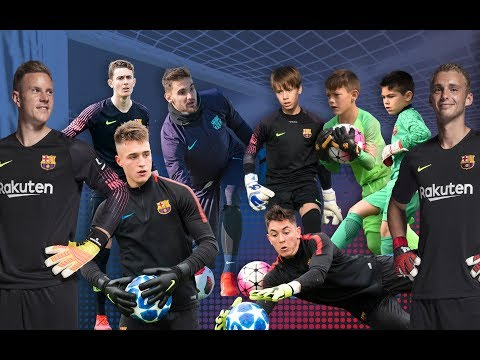 How To Create A Goalkeeper With Barça DNA