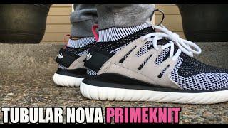 Tubular Nova Primeknit On Feet