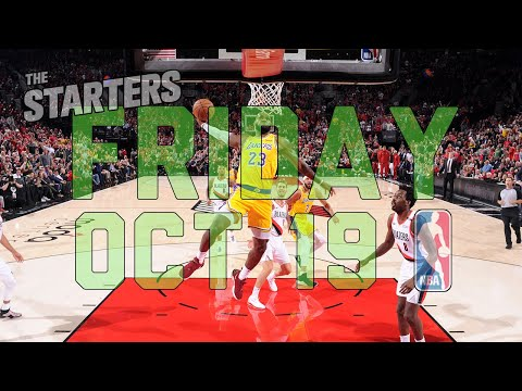 Video: NBA Daily Show: Oct. 19 - The Starters