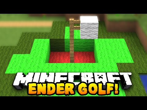 Minecraft ENDER PEARL GOLF! #1 (Funny Mini-game) w/ PrestonPlayz & Vikkstar123