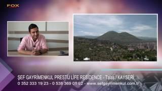 şef gayrimenkul prestij life residence  kayseri talas