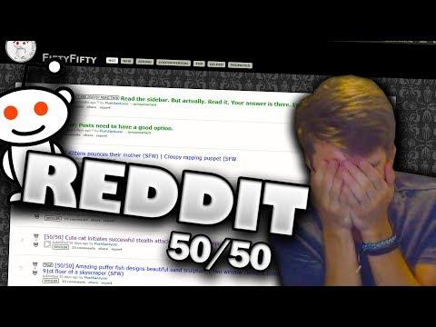 Reddit wtf - REDDIT 50/50 CHALLENGE! (wtf?)