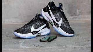 Nike Adapt BB - баскетбольные кроссовки с автоматической шнуровкой