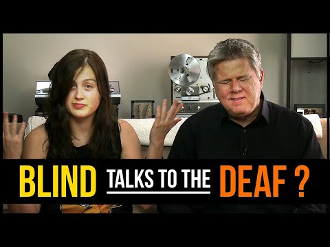 How Do A Blind Person  A Deaf Person