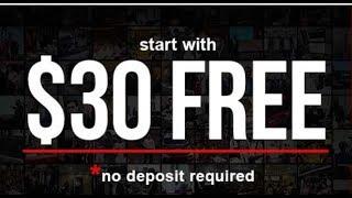 FOREX - Cadastro com $30 Dólares Grátis na XM