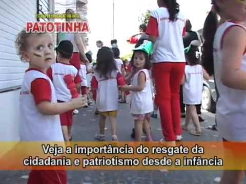 Escola Patotinha - Comemoração do 7 de Setembro