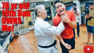 Video 78yr Old 10th Dan Karate Owns me! | Okinawa Part 1 | Eden Ang MP3, 3GP, MP4, WEBM, AVI, FLV Januari 2019