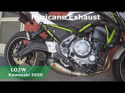 Top 6 Full Exhaust Sound Kawasaki Z650 Akrapovic IXIL Yoshimura Two Brothers