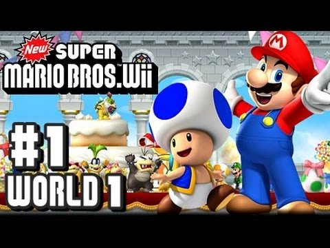 Wii - READ DESCRIPTION GIVEAWAY RULES* This is my Co Op 1080p HD Let's Play with live commentary of New Super Mario Bros Wii for the Nintendo Wii! This is part 1 ...