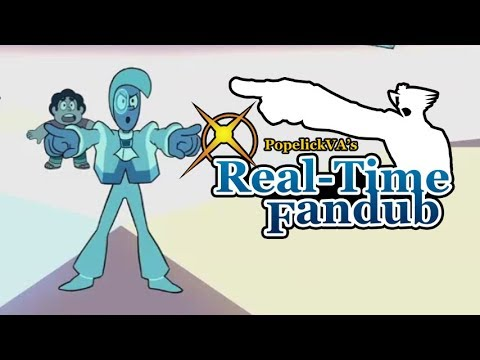 The Trial but with Ace Attorney voices - Real-Time Fandub - Steven Universe The Trial / Off-Colors