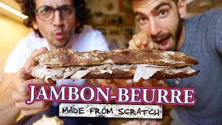 I flew in a French Guy to help perfect this sandwich... by Brothers Green Eats