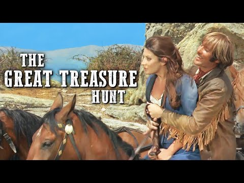 The Great Treasure Hunt | Full Length Western | Wild West | Classic Cowboy Movie | Full Movies