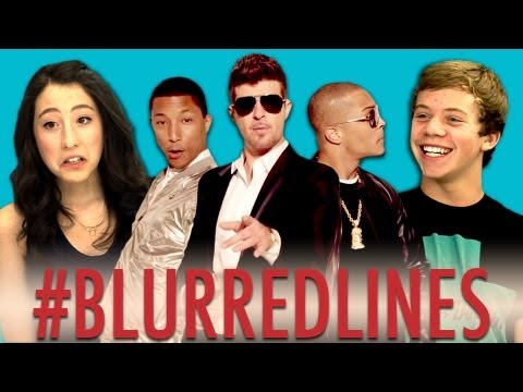Teens React to Robin Thicke – Blurred Lines