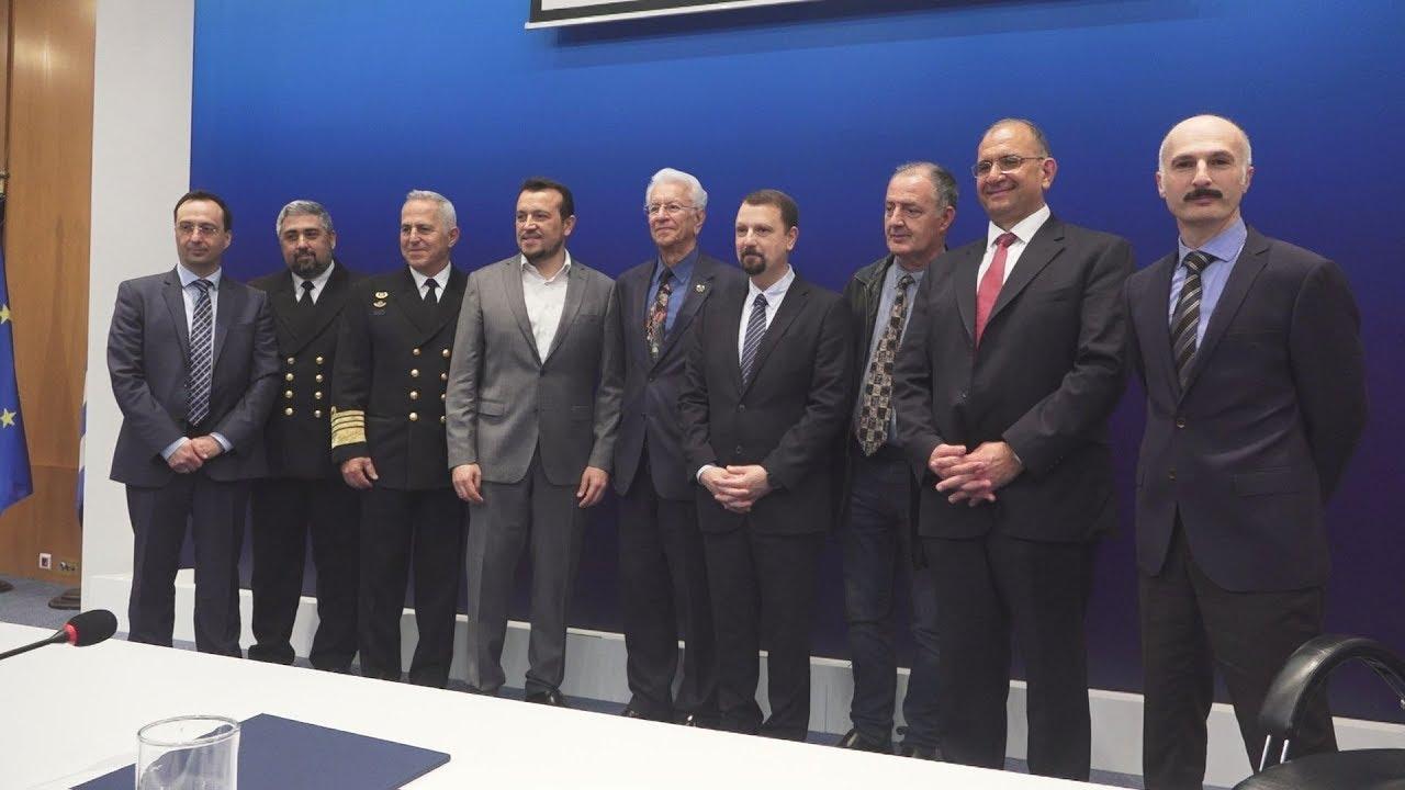 Παρουσίαση του νεοσύστατου Ελληνικού Διαστημικού Οργανισμού