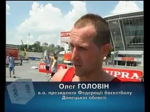 Сюжет о турнире УСЛ Donbas Arena Streetball Challenge