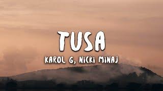 Video Karol G, Nicki Minaj - Tusa (Letra / Lyrics) download in MP3, 3GP, MP4, WEBM, AVI, FLV January 2017