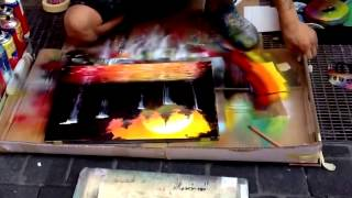 Video Pelukis Jalanan, Karya Lukisan Harga Milyaran Rupiah, Skill,Spray Paint MP3, 3GP, MP4, WEBM, AVI, FLV Desember 2018