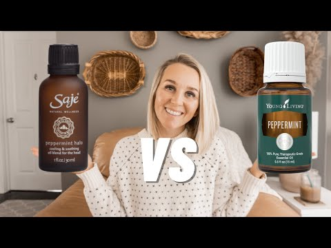 Young Living Essential Oils VS Saje Essential Oils - Whats Better? | Torey Noora
