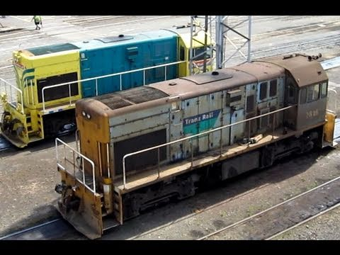 Westfield Rail Yards Kiwirail Op's + Loco Facility
