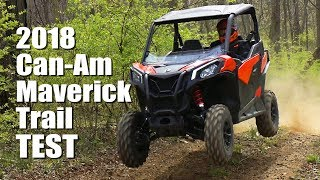 7. Can-Am Maverick Trail 1000 DPS Test Review