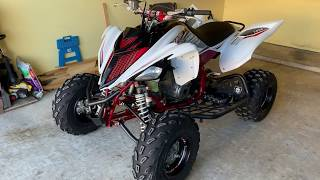 4. 2018 Yamaha Raptor 700R SE - Walkthrough and mods