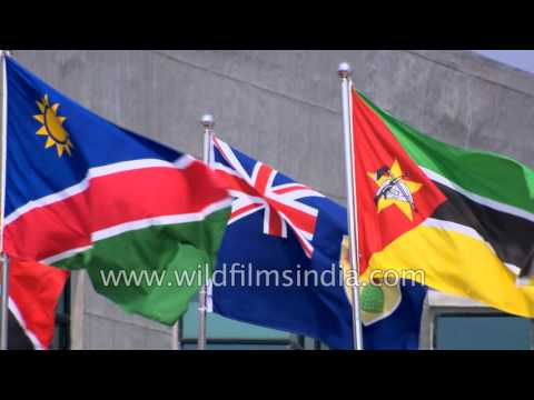 Flags of the Commonwealth countries