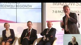Wyzwania nowej perspektywy - kampusy innowacji lokomotywami rozwoju regionu - debata w ramach 6 FRM