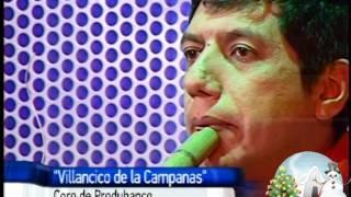 Presentacion en teleamazonas, el 14 de diciembre de 2011 con el Villancico de las Campanas.
