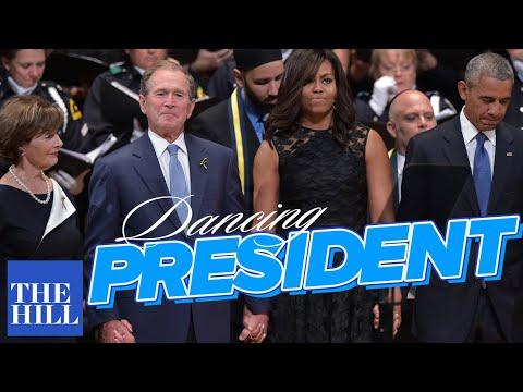 George Bush chciał zatańczyć na pogrzebie uczestników strzelaniny w Dallas