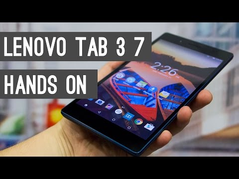 Lenovo Tab3 7 Quick Review + Hands On