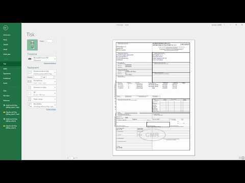 Jak exportovat data do Excelu